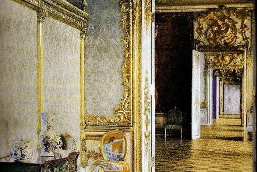Екатерининский дворец до войны фото (1917 г.)