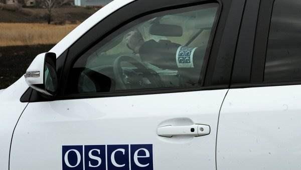 Руководитель миссии ОБСЕ получил ранение в Широкино