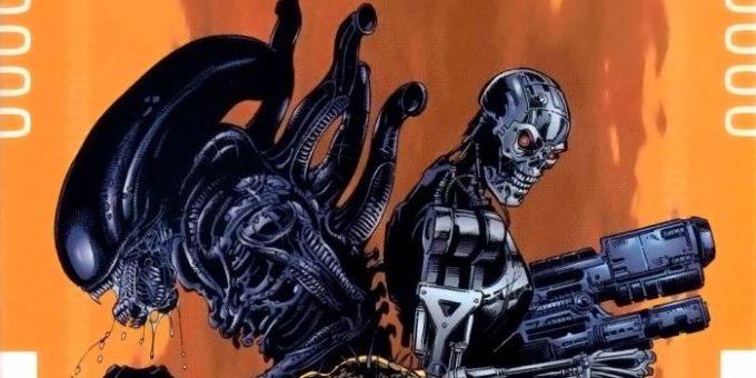 «Чужие против Хищника против Терминатора» комикс онлайн