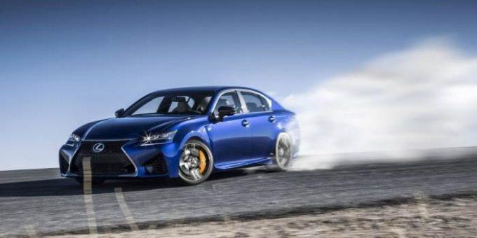 Новый Lexus GS F 2016 фото и видео