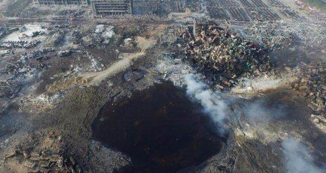 Взрыв в Тяньцзине шокирующие фото
