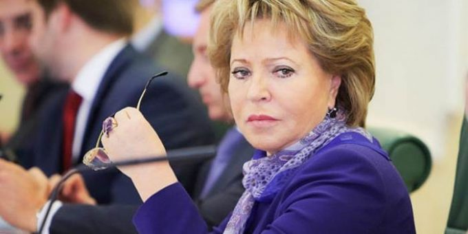 Матвиенко не поедет в США из-за проблем с визой