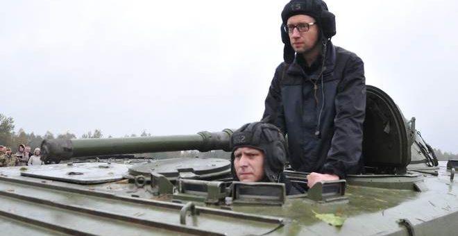 Яценюк воевал в Чечне против России