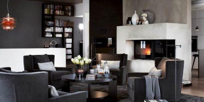 Стильные интерьеры домов. Норвежская студия Slettvoll