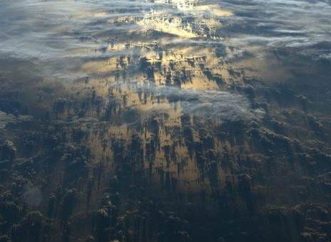 Фото из космоса астронавта Александра Герста (Alexander Gerst)