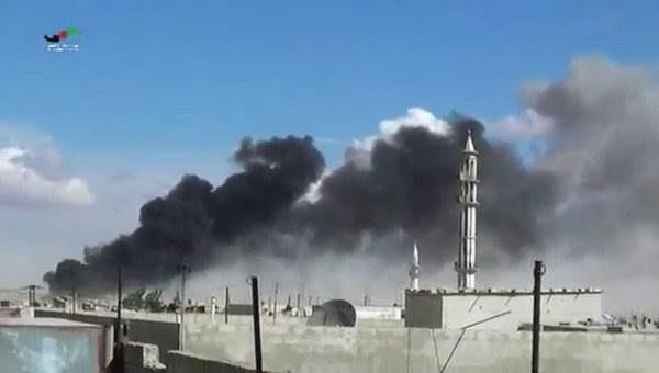 ВВС России нанесли удар по ИГИЛ видео