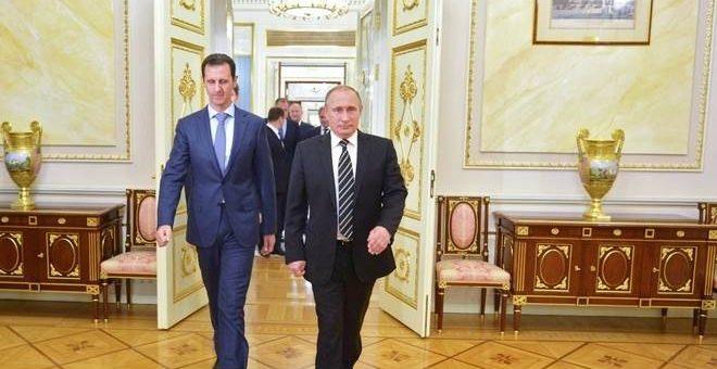 Встреча Путина и Асада в Кремле фото и видео