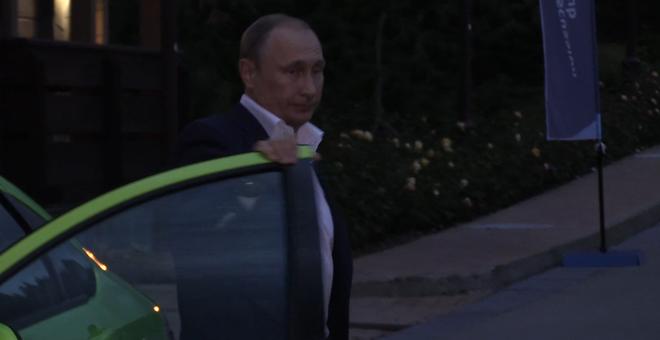Путин протестировал новую «Ладу Весту» фото и видео