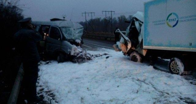 В Нижегородской области разбился автобус с футбольными болельщиками