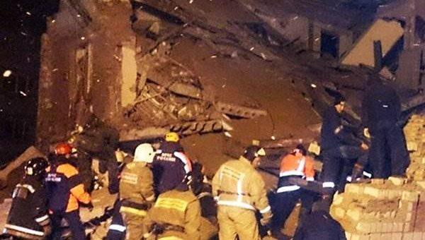 В Хабаровском крае от взрыва рухнул дом фото и видео
