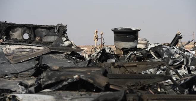 Новые фотографии с места катастрофы самолёта из Шарм-эль-Шейха