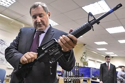Дмитрий Рогозин выстрелил себе в ногу