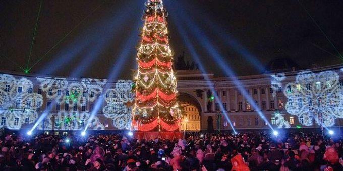 Новый год на Дворцовой площади 2016 программа