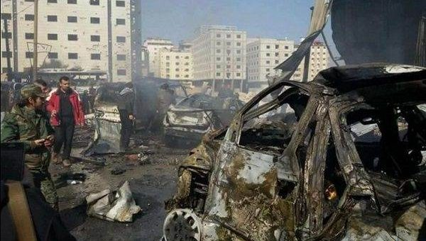 Теракт в Дамаске 31 января 2016 фото и видео