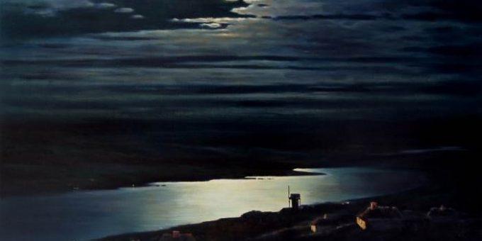 «Лунная ночь на Днепре» картина Куинджи