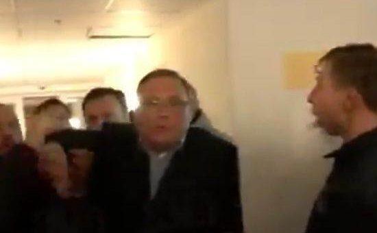 Касьянов спрятался в кладовке, где просидел несколько часов видео