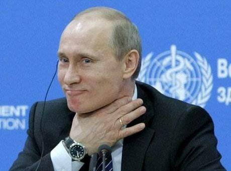 Евродепутаты хотят ввести санкции против Путина