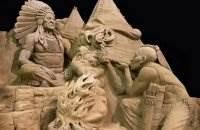 Скульптуры из песка Рэя Вильяфане (Ray Villafane)