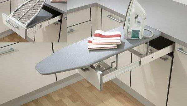Как рационально использовать пространство на маленькой кухне?