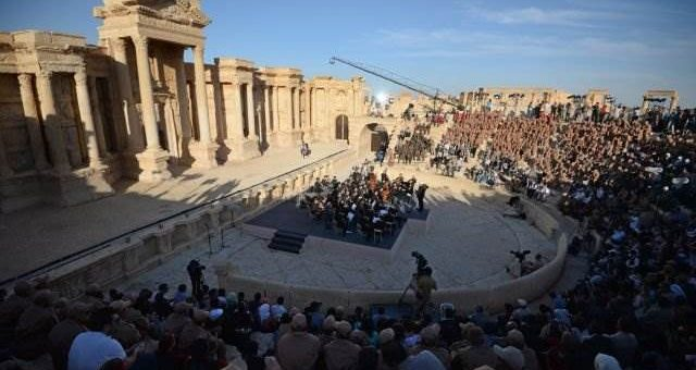 В Пальмире прошёл концерт Гергиева видео