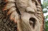 Кит Дженнингс (Keith Jennings) - Tree Spirits. Резьба по дереву