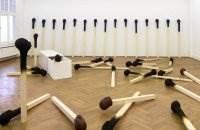 Wolfgang Stiller спичечные инсталляции