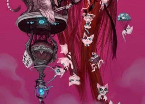 Безумный мир аниме (художник Elsevilla)