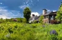 Интерьер курортного дома Twin Farms в Вермонте