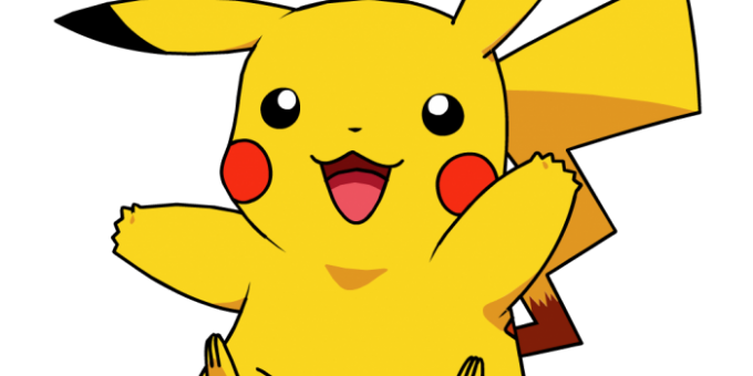 Как рисовать покемона Пикачу