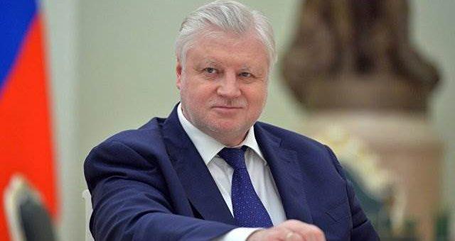 Сергей Миронов станет OxxxyMironov для предвыборных дебатов