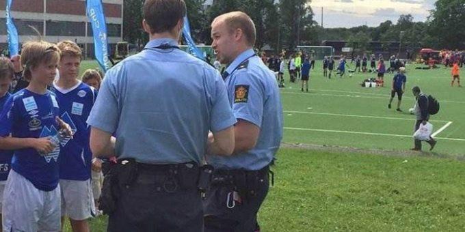 Драка российских футболистов на турнире Norway Cup в Норвегии