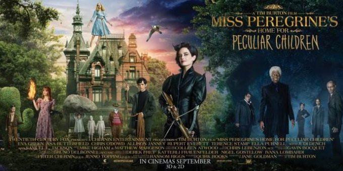 Дом странных детей Мисс Перегрин дата выхода