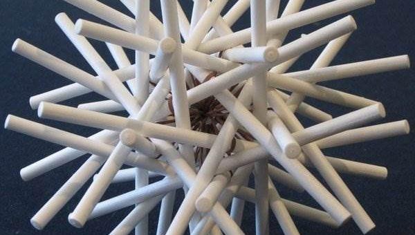 Zachary Abel геометрическая скульптура