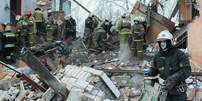 Взрыв газа в доме в Иваново фото и видео