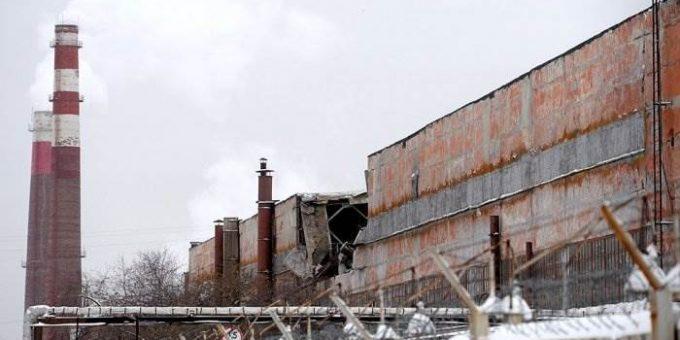 Обрушение крыши завода в Екатеринбурге фото и видео