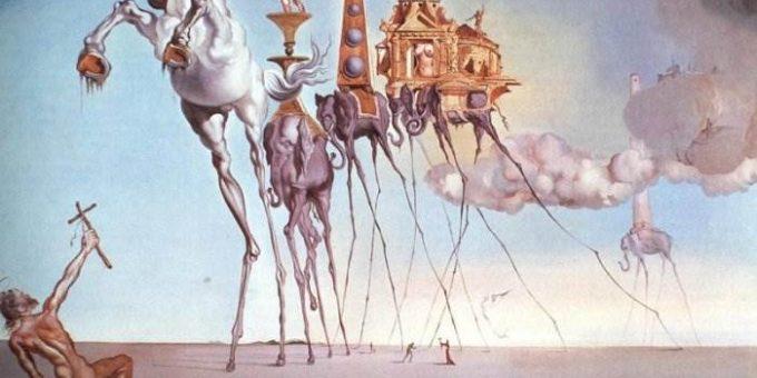 Самые знаменитые картины Сальвадора Дали с названиями