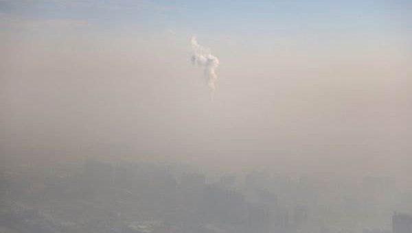 Смог над Пекином в Китае фото и видео
