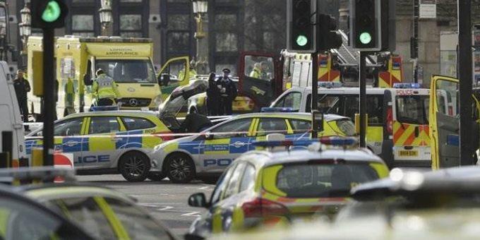 Теракт в Лондоне 22 марта 2017 фото и видео