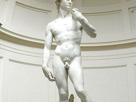 Давид скульптура Микеланджело