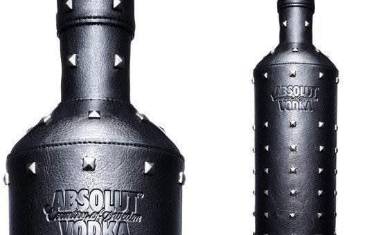 Креативный дизайн бутылок алкоголя