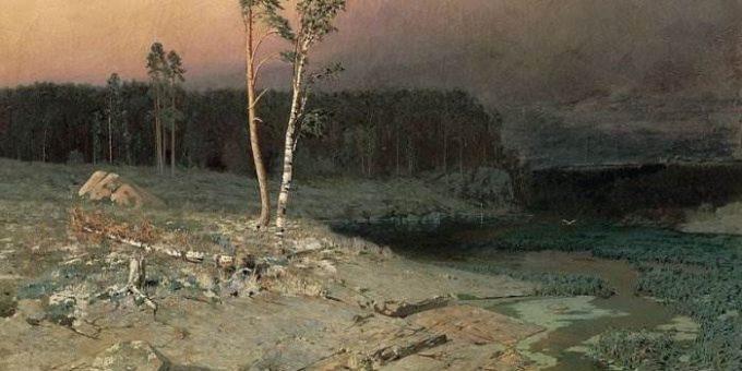 На острове Валааме картина Куинджи