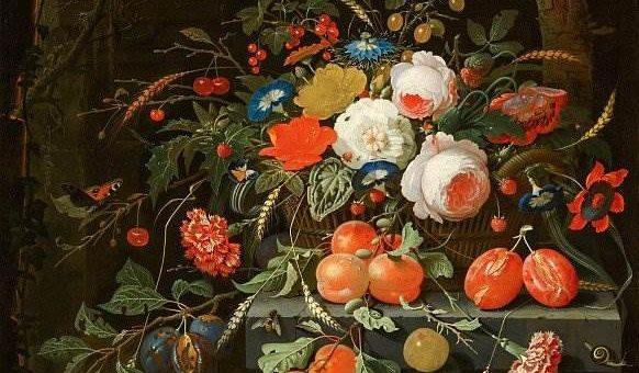 Цветы и фрукты - Абрахам Миньон