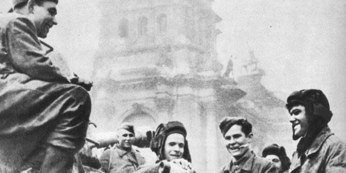 Великая Победа 1945 фото