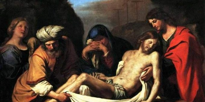 Погребение Христа - Гверчино
