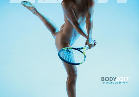 Каролина Возняцки снялась обнажённой для журнала ESPN The Body Issue