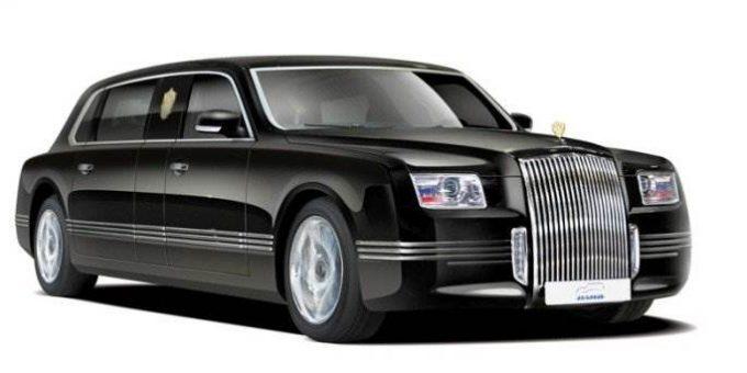 Путин оценил новый российский лимузин «Кортеж»
