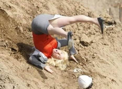 Самые смешные падающие люди (15 фото)