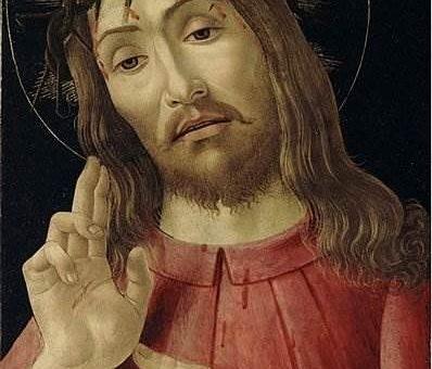 Воскресший Христос - Сандро Боттичелли