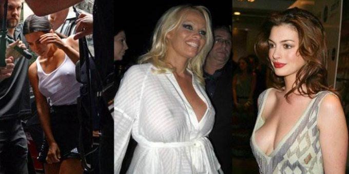 Знаменитости, которые не носят нижнее бельё (20 фото)