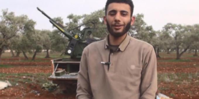 Появилось фото боевика сбившего Су-25 в Сирии